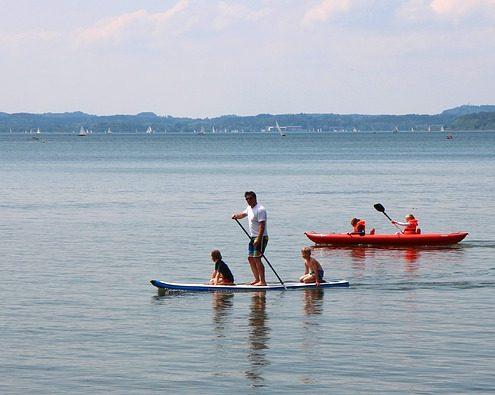 Curso grupal paddle surf