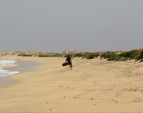 Kite Beach en Cabo Verde
