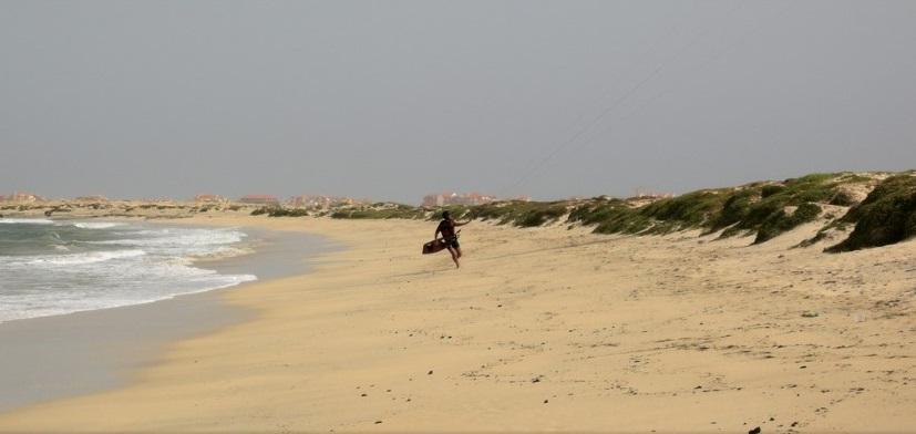 Kitesurf en Cabo Verde, destino de viento